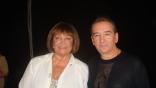 С Ларисой Лужиной